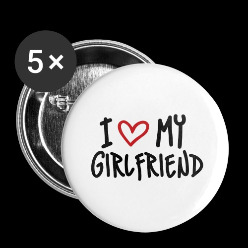 Girlfriend Love - Large Buttons