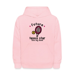 Tennis Star Like Mom - Kids' Hoodie