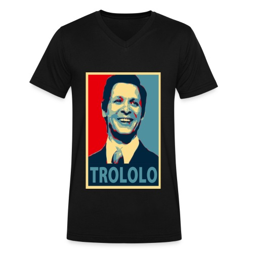 Trololo guy - Men's V-Neck T-Shirt by Canvas