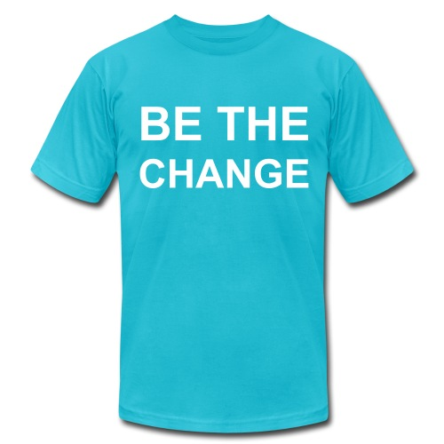 Be The Change - Men's  Jersey T-Shirt