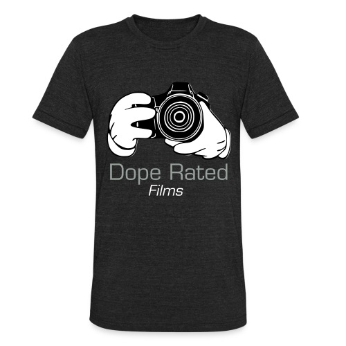 DopeRated (Black) Vintage T-Shirt  - Unisex Tri-Blend T-Shirt