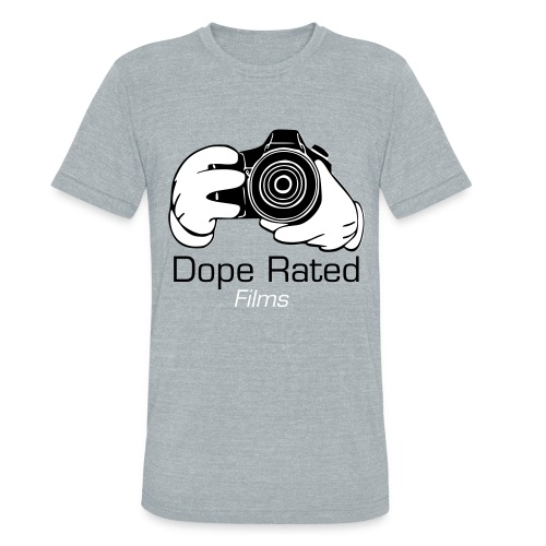 DopeRated (Grey) Vintage T-Shirt  - Unisex Tri-Blend T-Shirt