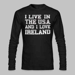Live In USA Love Ireland - Men's Long Sleeve T-Shirt by Next Level