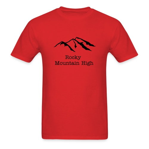 Rocky Mountain High - Men's T-Shirt