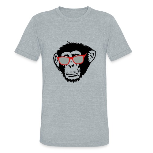 Monkeying around  - Unisex Tri-Blend T-Shirt