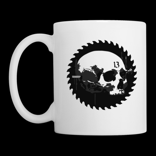 Cathedral 13 razor logo mug - Coffee/Tea Mug