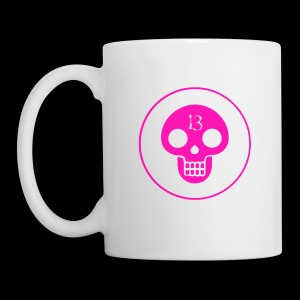 Pink skull Cathedral 13 mug - Coffee/Tea Mug