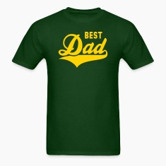 BEST Dad Tail-Design T-Shirt YG