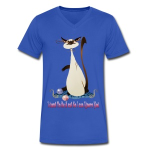 I Want To Be A Cat.... - Men's V-Neck T-Shirt by Canvas