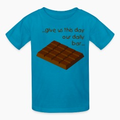 chocolate bar solid 4x4 - digital Kids' Shirts