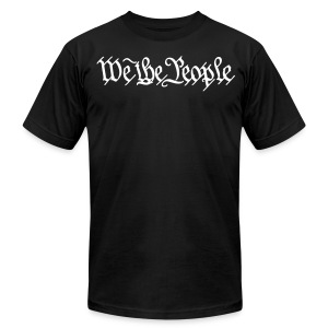 We The People - Men's T-Shirt by American Apparel