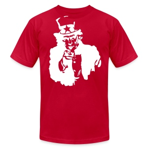 Uncle Sam - Men's T-Shirt by American Apparel