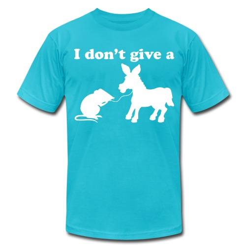 I dont give a - Men's Fine Jersey T-Shirt