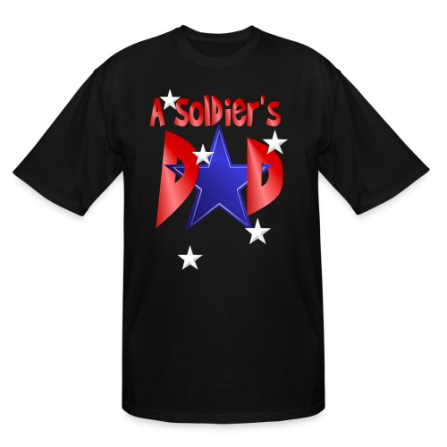 A Soldier's Dad - Men's Tall T-Shirt