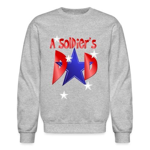 A Soldier's Dad - Crewneck Sweatshirt