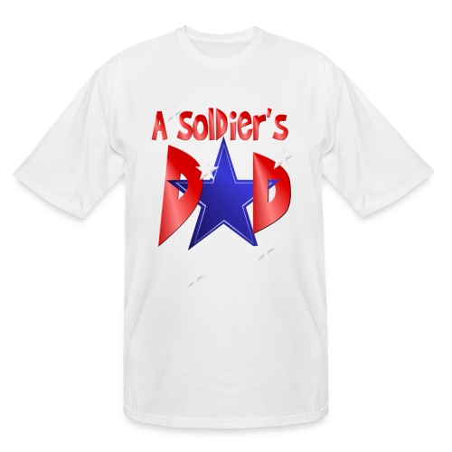 A Soldiers Dad - Men's Tall T-Shirt