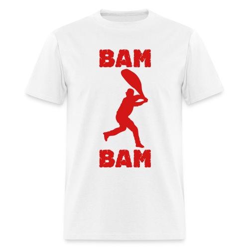 Bam Bam Tee - White - Men's T-Shirt