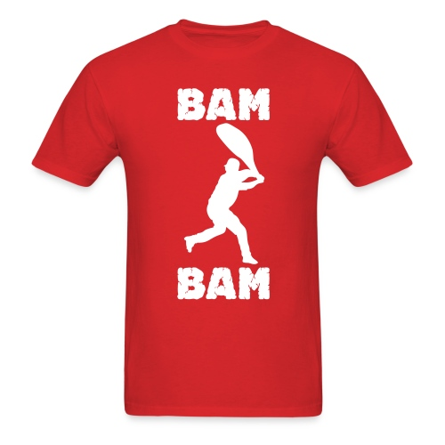 Bam Bam Tee - Red - Men's T-Shirt