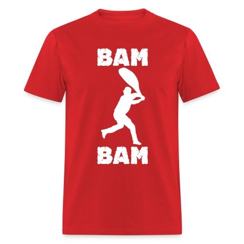 Bam Bam Tee - Red - Men's T-Shirt