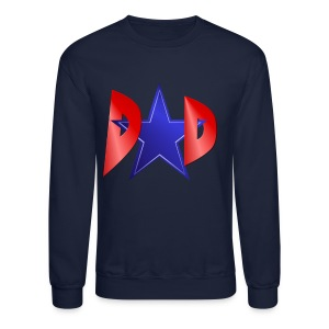 A Blue Star Dad - Crewneck Sweatshirt