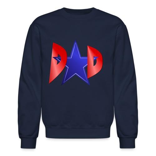 A Blue Star Dad - Crewneck Sweatshirt