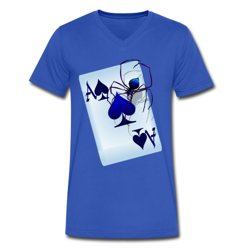 Big Ace - Men's V-Neck T-Shirt by Canvas