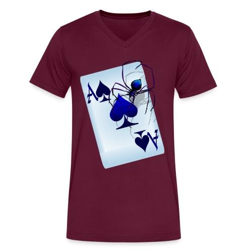 Big Ace - Men's V-Neck T-Shirt by Canvas
