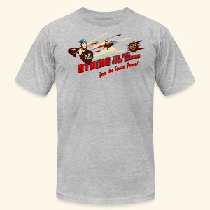 Join the Space Force! (Vintageprint) - Men's Fine Jersey T-Shirt