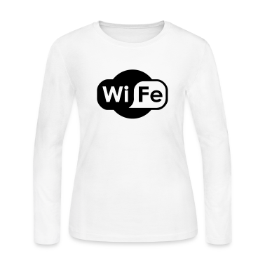 Wife Logo Long Sleeve Shirts