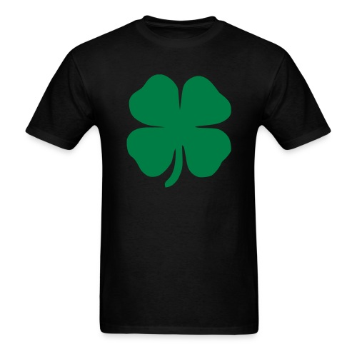 Men's clover  - Men's T-Shirt