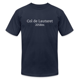 Lautaret - Men's T-Shirt by American Apparel