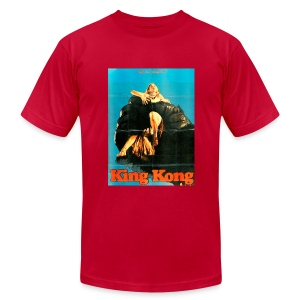 King Kong (1976) - Men's T-Shirt by American Apparel