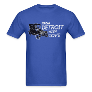 T-Shirts ~ Men's T-Shirt ~ From Detroit With Love