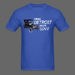 From Detroit With Love - Men's T-Shirt