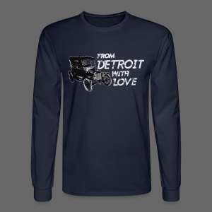 From Detroit With Love - Men's Long Sleeve T-Shirt