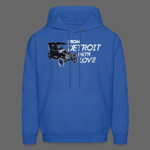 From Detroit With Love - Men's Hoodie