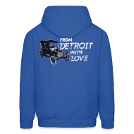 Hoodies ~ Men's Hoodie ~ From Detroit With Love