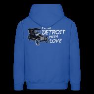 Hoodies ~ Men's Hoodie ~ From Detroit With Love