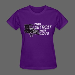 From Detroit With Love - Women's T-Shirt