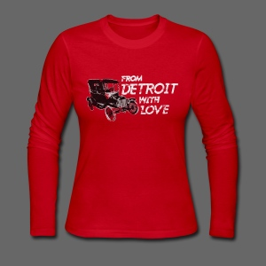 From Detroit With Love - Women's Long Sleeve Jersey T-Shirt