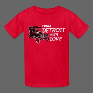 From Detroit With Love - Kids' T-Shirt