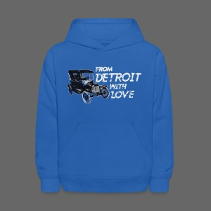 From Detroit With Love - Kids' Hoodie