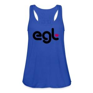 Womens EGL Tank - Women's Flowy Tank Top by Bella