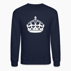 Keep Calm and Carry On Crown Long Sleeve Shirts