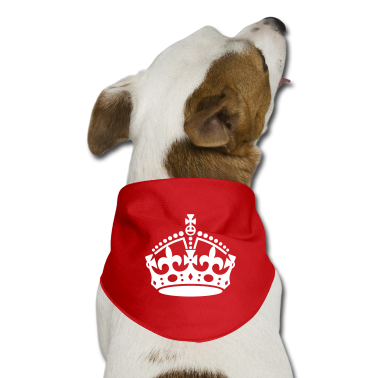 Keep Calm and Carry On Crown Dog T-Shirts