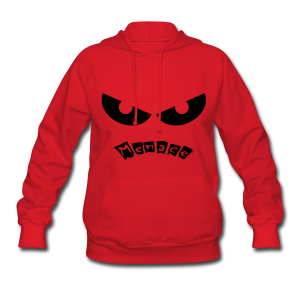 Menace Hooded - Women's Hoodie