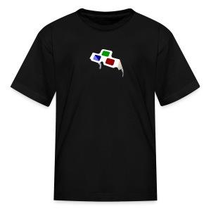 4D Glasses Mini-Logo for Kids - Kids' T-Shirt