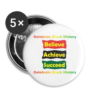 Believe Achieve Succeed (button) - Large Buttons