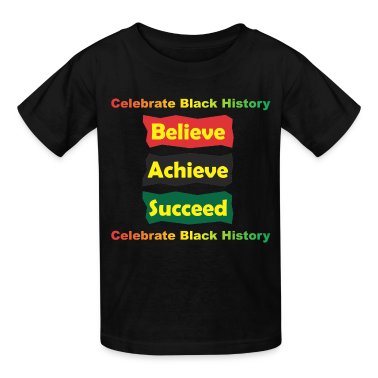 Achieve Believe Succeed Kids' Shirts