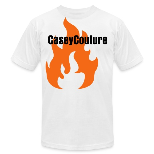 Casey Couture Flame - Men's Fine Jersey T-Shirt